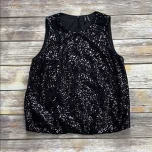 7 for all Mankind Sequin Top